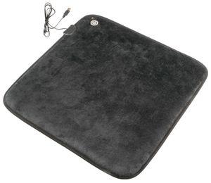 Walser Sitzheizung Heizkissen mit USB Stecker 42 x 42 cm schwarz, 16648