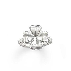 Thomas Sabo Ring TR1912-001-12 Kleeblatt Silber