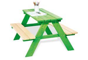 Kindersitzgarnitur 'Nicki für 4', grün