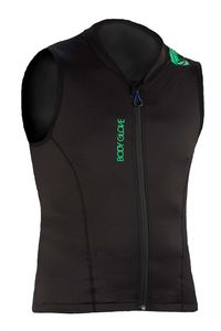 Body Glove Herren Rückenprotektor LITE-PRO Vest Men schwarz / grün, Größe:L