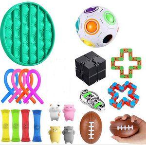 22pcs Fidget Sensory Toy Set Autism ADHD SEN Stress Relief Special Educations