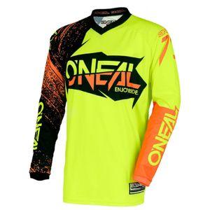 O'NEAL Herren Jersey Element Burnout , Hi-Viz Gelb Orange, M