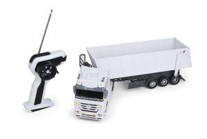 Siva Ferngesteuerter Truck Mercedes Benz Actros Kipplaster weiß 1:32 27 MHz; 50091