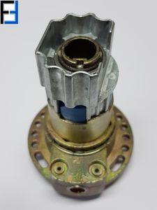 WERU Kegelradgetriebe 2:1 rechts 8-Kant Kittelberger Rolladenwelle 42 mm