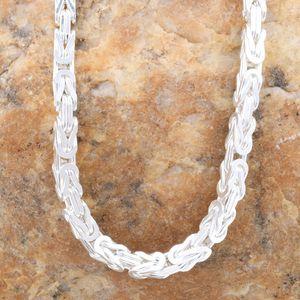 Königskette Silber Kette Herren 925 Sterling Silber massiv Halskette o. Armband 3,5mm 45cm
