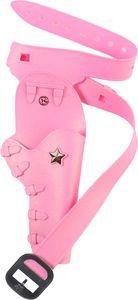 Coltgürtel pink, 1 Tasche, Länge ca. 86-98 cm