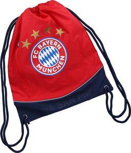"FC Bayern München Sportbeutel ""Mia san mia"" 7-8 Liter rot"