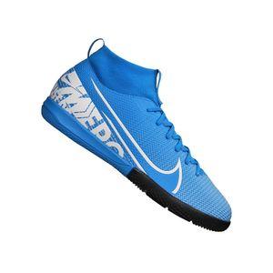 Nike Kinder Fußball - Hallenschuhe JR Superfly 7 Academy IC hellblau, Größe:38