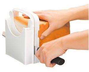Brotschneidehilfe manuell Brotschneider Schneidehilfe Brotschneidebrett