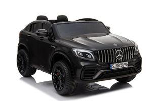 Kinder Elektroauto Mercedes GLC Allrad 4x45W Elektrofahrzeug 2-Sitzer Eva Leder