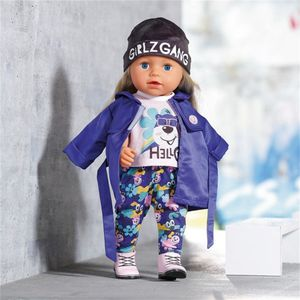 ZAPF Creation BABY born Deluxe Kalte Tage Set Puppenzubehör cooles Outfit