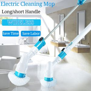 NEU  360° Elektrische Reinigungsbürste - 360° Spin Reinigung Scrubber