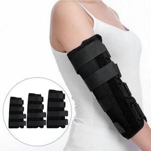 1 Stück professionelle Armschiene Ellenbogen Unterstützung Ellenbogen-Unterstützung -(als Bild zeigen,Mittel)