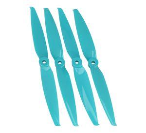 Gemfan 7042 7x4.2 Flash 2-Blatt-Propeller - Blau (2xCW, 2xCCW) 7 Zoll