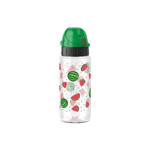 Emsa Kindertrinkflasche Tritan Bottle Green Melons, 0,5 Liter, grün (1 Stück)