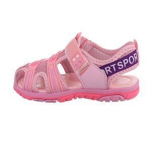 Ital-Design Damen Schuhe Sandalen Rosa Gr.30