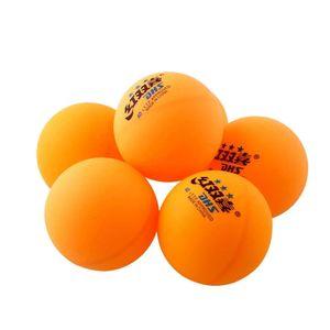 6x Olympischen Olympic Tischtennisb?lle Ping-Pong-B?lle gelb Sports 3-Stern