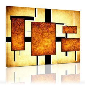 Leinwandbild - Modern Art - Formen, Größe:60 x 50 cm
