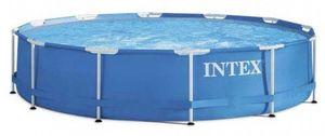 Intex aufstellpool mit Pumpe 28242GN 457 x 122 cm blau