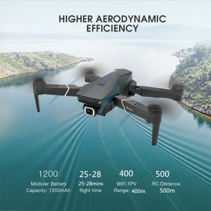 2020 neue Upgrade Eachine E520S Dual GPS 5G WIFI FPV 75 Minuten Flugzeit Follow Me Faltbare RC Drone Quadcopter -1080P 2 Batterie