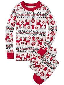 Familien-Weihnachtspyjamas-Set Passende Deer Print Lounge-Set Party-Outfits Nachtwäsche,Farbe:Papa,Größe:XL