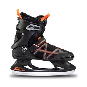 K2 Herren-Schlittschuhe F.I.T. ICE BOA black_orange Größe 44,5