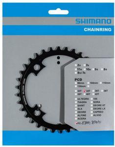 Shimano Steps SM-CRE80/SM-CRE80-B Kettenblatt 11-fach Ausführung 34T