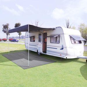 Neues Produkt Zeltteppich Vorzeltteppich Campingteppich Outdoor 300x400 cm Hellgrau