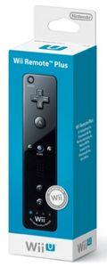 Nintendo Remote Plus schwarz für Wii und Wii U