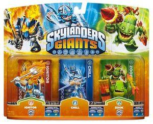 Skylanders Giants Triple Pack B