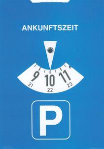 RNK Verlag Parkscheibe aus Karton Farbe: blau