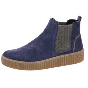 Gabor Shoes     blau kombin, Größe:5, Farbe:blau kombi wint.blau/beig(nat 8