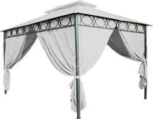 Dach für Pavillon 3x4 m, PVC beschichtet, wasserdicht - Farbe: beige