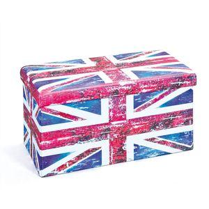 Faltbox Setto groß Union Jack rot