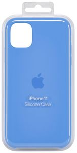 Apple iPhone 11 Silicon Case Surf Blue