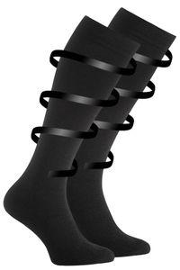 Cotton Prime® Stütz- und Reisekniestrümpfe mit Kompressionseffekt 43-46 schwarz