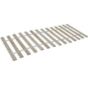 WOOOD Rolllattenrost, Rollrost mit band 90x200cm Ang, 700301