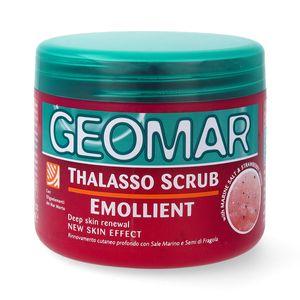 GEOMAR Thalasso Scrub Peeling Emollient mit Erdbeere 600 g