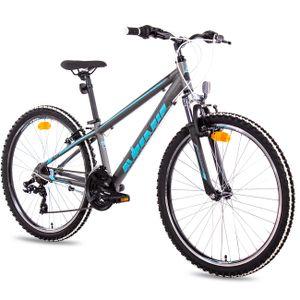 Airtracks MTB Damen Fahrrad 26 Zoll YO.2640 Mountainbike 21 Gang SHIMANO Kettenschaltung ( für Körpergröße 150-165cm ) » Mod. 2021 «