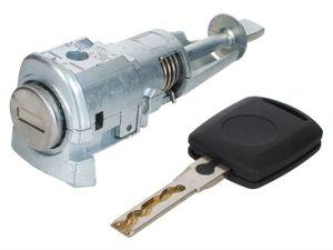 Türschloss Schließzylinder VORNE LINKS + Schlüssel für Skoda Octavia II 1Z 2004-