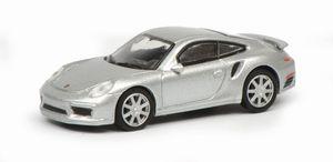 Schuco Porsche 911 (991),silber 1:87