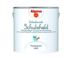 Alpina Farbenfreunde Schutzheld Transparent matt 2,5 LT