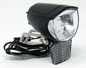 LED Fahrrad Scheinwerfer 75 Lux Sensor Standlicht Fahrradlampe Nabendynamo