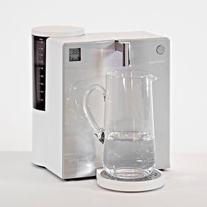 Aqua Living Wasserfilter Spring-Time H2 Premium Aluminiumoptik – weiß