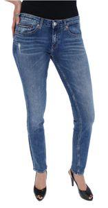 Tommy Jeans LOW RISE SKINNY Sophie Damen Jeans, Tommy Jeans Farben:Joy Mid Blue Stretch, DAMEN JEANS:W32/L32