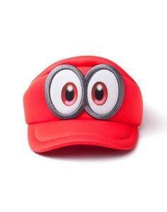 Super Mario Cap Super Mario Odyssey  Red