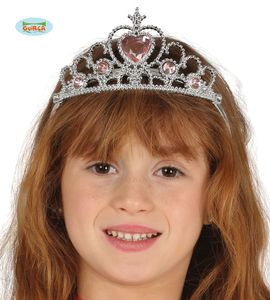 Fiestas Guirca tiara princess junior silber one-size