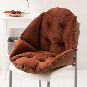 Comfort Shell Form Surround Sitzkissen Schaumstoff Autostuhl Kissen-Kaffee 48x40x55cm Kaffee