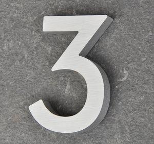 Hausnummer Haustürnummer Aluminium Scala Nr. 3