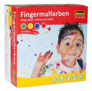 Iden System Idena Fingermalfarben  0 0 STK